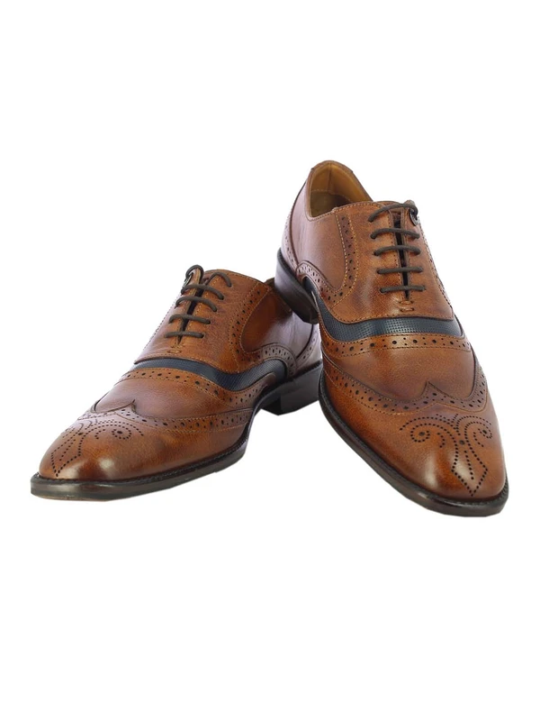MENS MATTEO TAN OXFORD SHOES