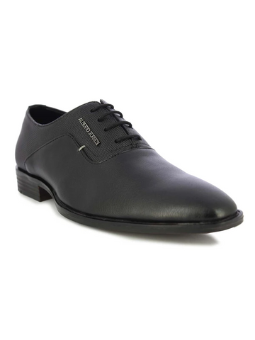 MEN'S BLACK LACE SHOE