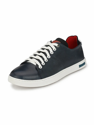 JOHAN NAVY CASUAL SHOE