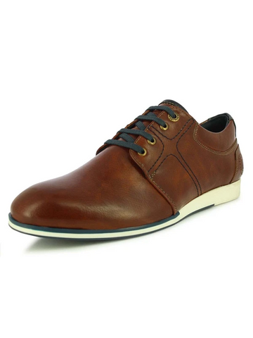 DAVID MEN'S TAN CASUAL SHOES
