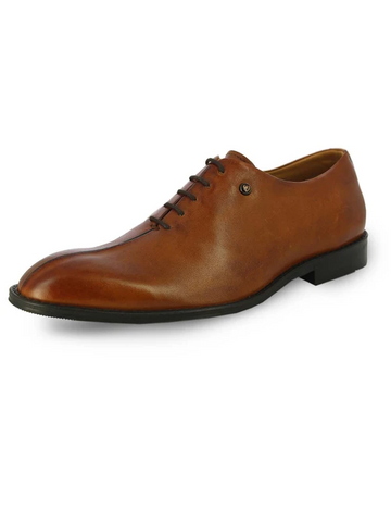 MENS ROARK TAN DERBY SHOES