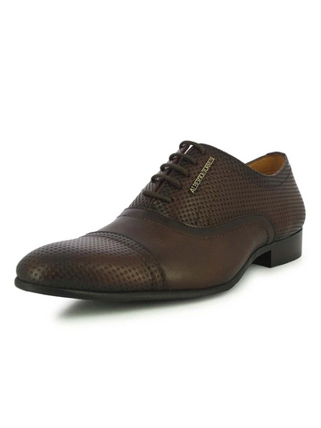 MEN'S CONWY BROWN FORMAL SHOES