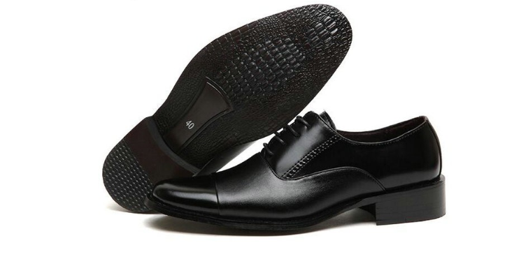 4937dac1d803 ... Working Office shoes mens leather shoes white dress shoes business  wedding shoes lace up flats big ...