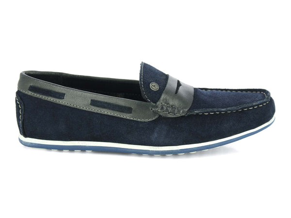 Alberto Torresi Cosenza BLUE+GREY Casual Shoes