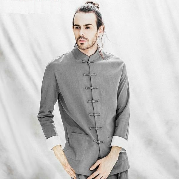 Clothing long sleeve traditional men clothing men clothing