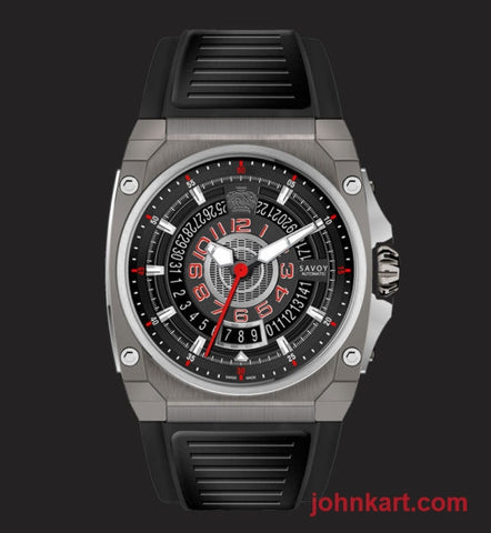 Savoy ICON Midway S3 – Automatic – Limited Edition to 175 – Swiss Made 41mm – Titanium IP