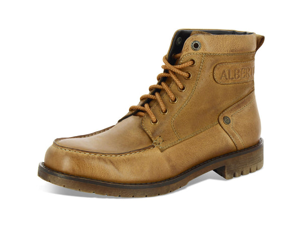 Alberto Torresi Bardo Tan Leather Men Boots