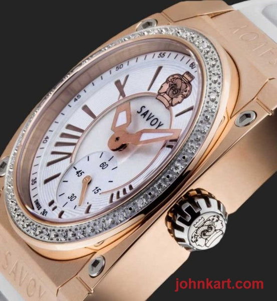 Icon Light Diamond Rose Gold IP White