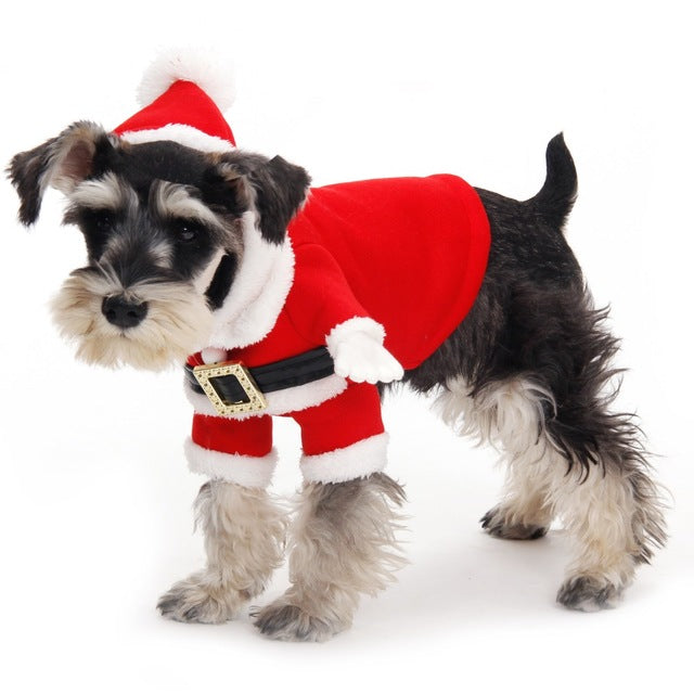 Free Shipping Dog Christmas Cotumes Pet Warm