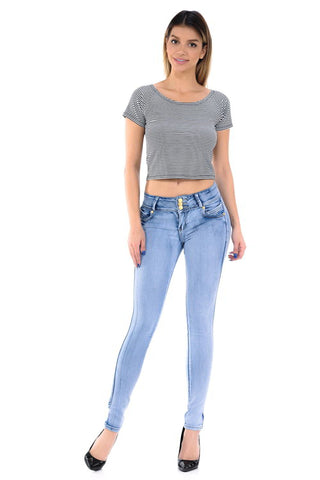 M.Michel Jeans Colombian, Push Up - M888