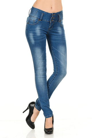 M.Michel Jeans Colombian, Push Up - Q10
