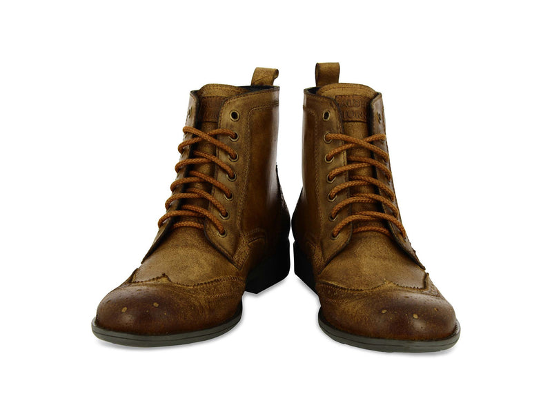 Maffeo Tan Leather Men Boots