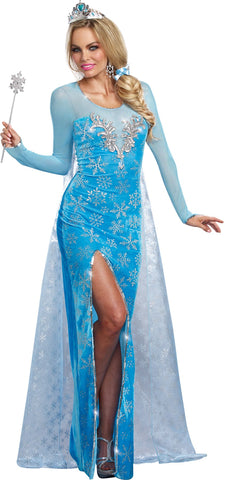 Ice Queen Adult Costume Large