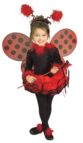 Lady Bug Toddler Costume 2T-4T