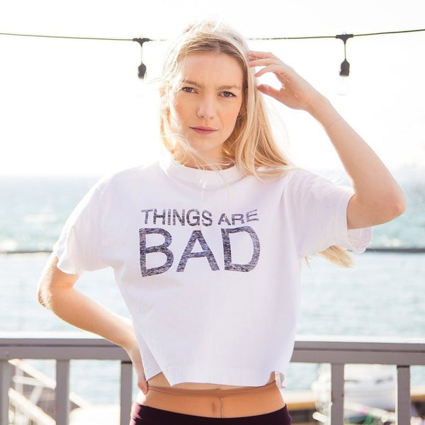 Monday Tee THINGS ARE BAD | Friday Tee THINGS ARE GOOD