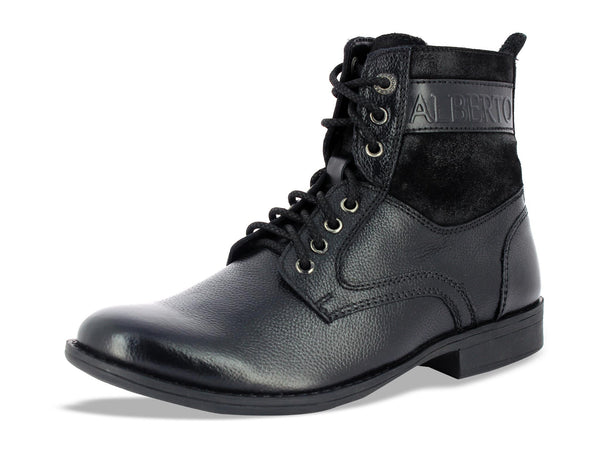 Salvestro Black Ankle Boots