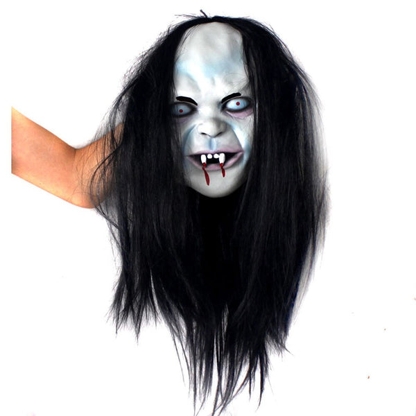Scary Devil Ghost Mask with Blood for Masquerade