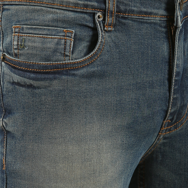 Greenish Blue Stretch Jean