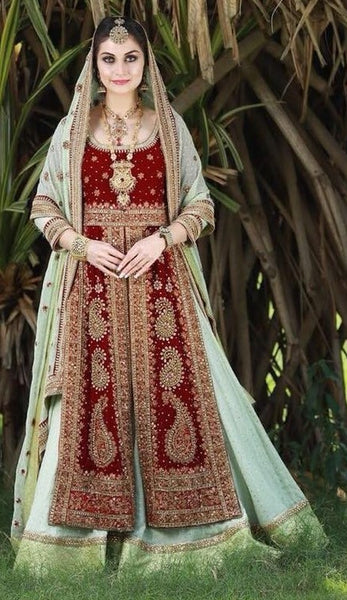 Arabic Lacha Gown with shawl