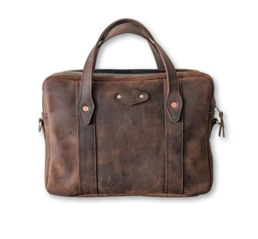Clark Slim Leather Briefcase