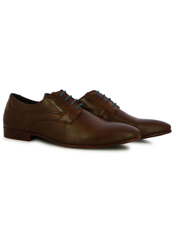 MEN'S BROWN LACE SHOE