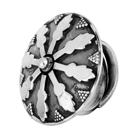 Ornate Tribal Ring 92.5 Silver