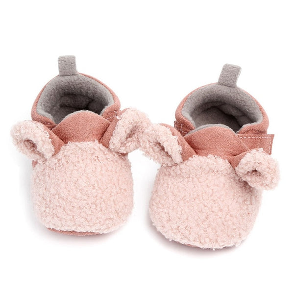 Infant Cartoon Non-slip Animal Style Baby Boots Newborn Baby Boys Girls Crib Shoes With Cute Ears Baby