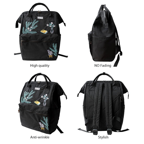 Women Backpacks Fashion Women Laptop Backpack School Bags for Teenage Girls Nylon Ladies Travel Backpack Backpack