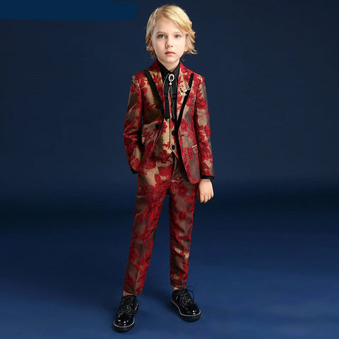 Suit for Boy Single Breasted Boys Suits for Weddings Costume Enfant Garcon Mariage Boys Blazer Jogging Garcon Kids Suits