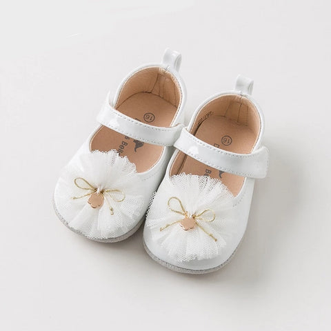 Spring autumn baby girl flower leather shoes children brand shoes