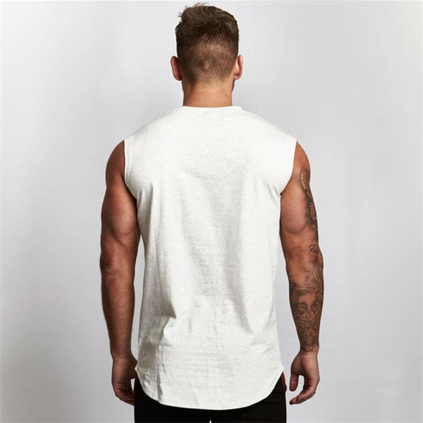 Gyms Workout Sleeveless Shirt Tank Top Men Bodybuilding Clothing Fitness Mens Sportswear Vests Muscle Men Tank Tops