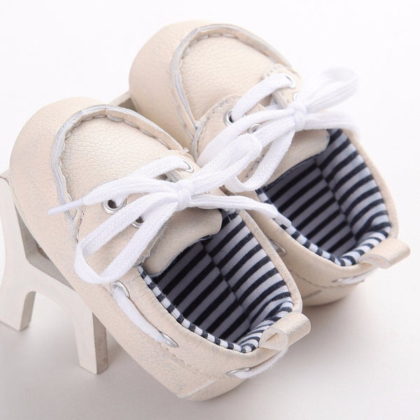 Fashion Classic Leisure Blue Infant Toddler Baby Boy Kid Prewalker  Shoes Crib Babe Soft Soled Loafer 0-1 Years