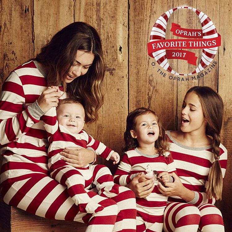 New Christmas Pajamas PJs Sets Xmas Family Clothes Set Sleepwear Nightwear Striped Tops Pants