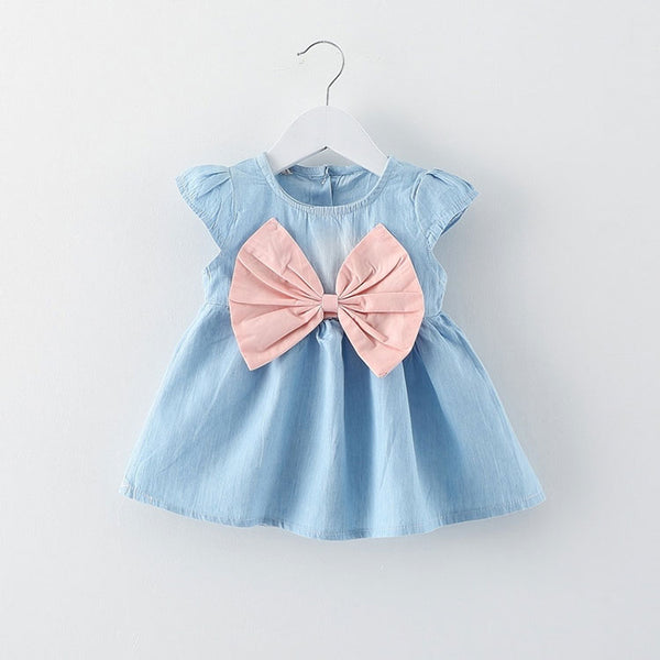 Summer newborn girl baby clothes brand short sleeve dress for infant baby girl wear cloth cute princess party tutu dresses dress