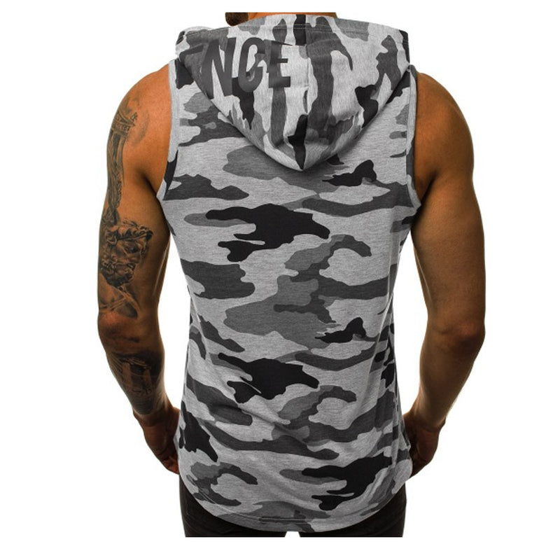 Summer Mens Vests Fashion Mens Breathbale Sleeveless Jackets Male Outwear Vests Hoodies Men Thin Waistcoats Clothing 3XL