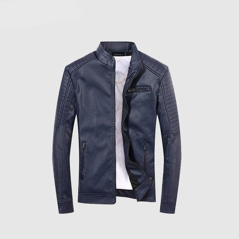 Mens Leather Jackets Winter Coat Men Plus Velvet Outerwear Biker Motorcycle Male Classic Military Tactical Faux Jacket