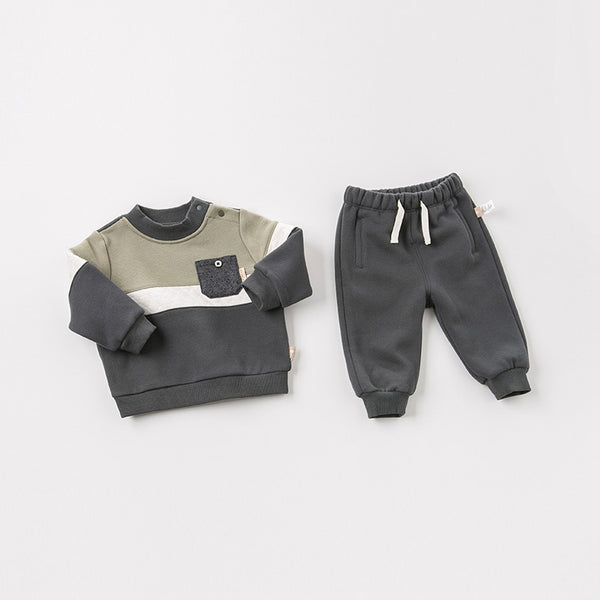 Autumn baby boys long sleeve clothing sets infant toddler top+pants 2 pcs outfits children high quality suits