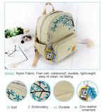 Original Embroidery Mini Women Backpack Female Small Backpacks School Bag for Teenager Girls Travel Backpack