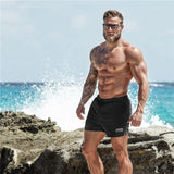 Summer New Casual Shorts Men Fit Solid 6 Color Available Shorts Loose Elastic Waist Breathable Beach Shorts