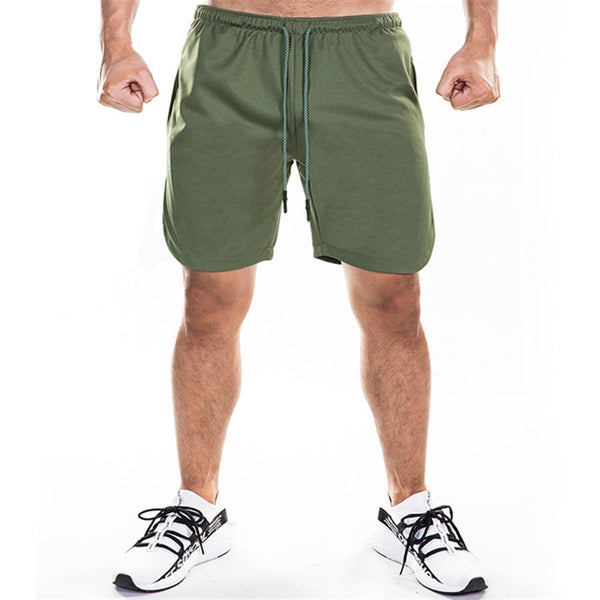 Shorts Mens Bodybuilding Fast Dry Boardshorts Joggers Sweatpants Summer Male Gyms Fitness Workout Beach Short M-XXXL