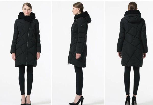 New Winter Collection Brand Fashion Thick Women Winter Bio Down Jackets Hooded Women Parkas Coats Plus Size 5XL 6XL