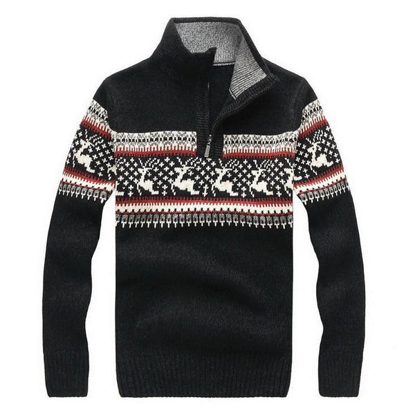 Winter New Man Casual Sweater men Turtleneck Pullovers Knitted Clothing Mens Sweaters
