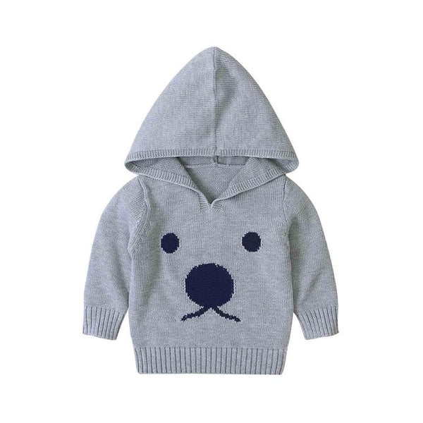 Autumn Knitted Sweaters For Baby Boys Girls Cardigan Cartoon Pattern Newborn Baby Bunny Jumpers Winter Outerwear Infant Knitwear