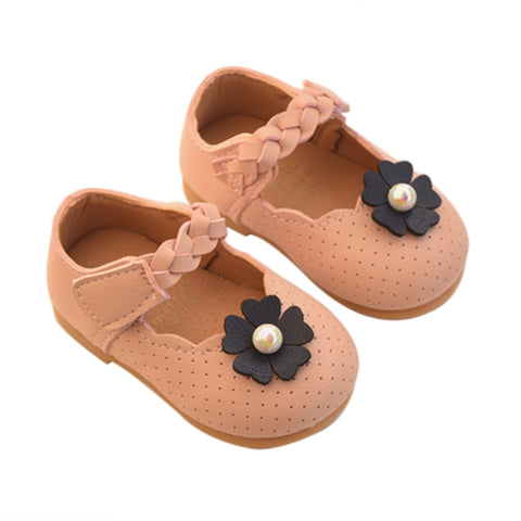 Newborn Baby Girl Casual Walking Flats Shoes Baby Moccasins Baby Soft Soled Non-slip Footwear Soft Crib Shoes