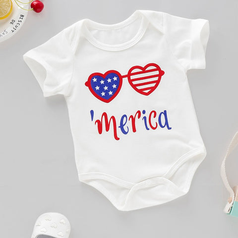Summer Baby Romper Toddler Infant Jumpsuit Baby Girl Boy Clothes Newborn Baby Letter Print Short Sleeve Romper