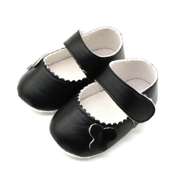 Baby Girls Shoes with Bowknot Toddler Infant First Walkers Spring Soft Sole Non-Slip Cotton Princess Casual Shoes
