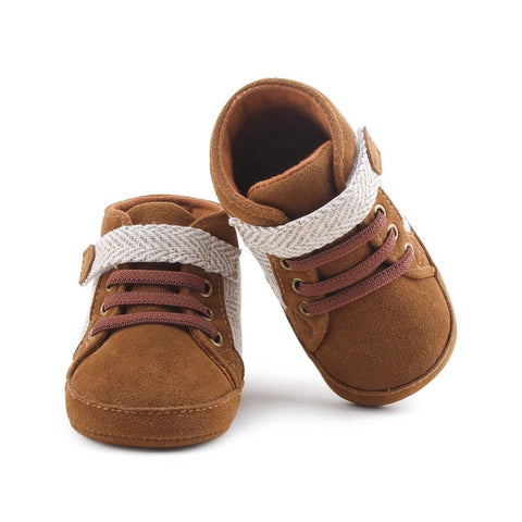 New Infant Baby Boys Shoes Newborn Soft Sole Sneaker Cotton Crib Shoes Toddler Casual Warm First Walkers For 0-18 month