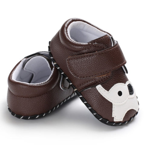 Soft First Walk  Cartoon Toddler Baby Girl Boy Shoes Prewalker Anti-slip Shoes Newborn Baby Shoes for Boy