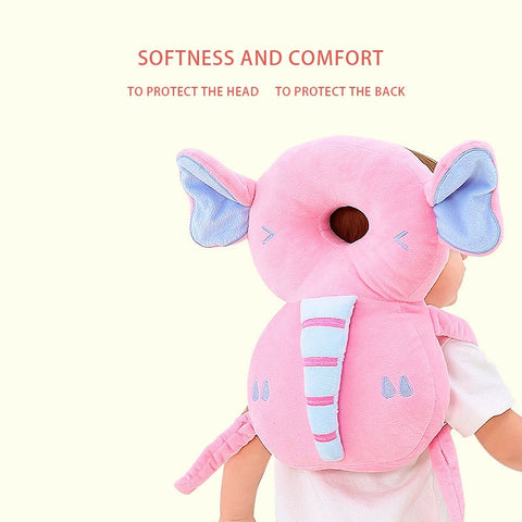 Cute Cartoon Nursing Drop Resistance Cushion Baby Head Protection Pad Toddler Headrest Pillow Baby Neck Baby Safety Pads