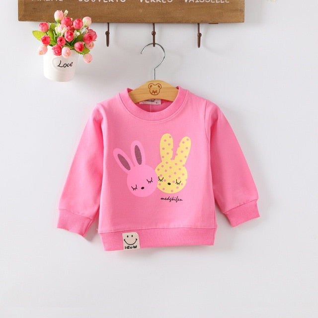 Kids Baby Boys Girls Hoodie Clothes Clothing Hoodies Toddler Infant Boy Girl Sweatshirts T-shirt Hoodie Cotton T Shirt